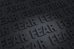 Dark Fear Background Royalty Free Stock Photos