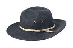 Dark Felt Hat Stock Photography