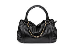 Dark female bag-1 Royalty Free Stock Images