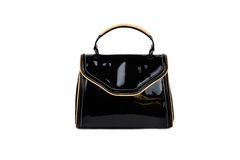 Dark female bag-6 Royalty Free Stock Photography