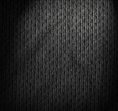 Dark fibrous textile background Royalty Free Stock Photos