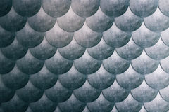 Dark fish scales background. Abstract dark fish scales background wallpaper. 3D Rendering Stock Photos
