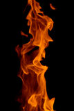 Dark flame Stock Photo