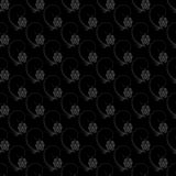 Dark floral nature seamless pattern design Royalty Free Stock Images