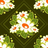 Dark floral pattern Royalty Free Stock Photography
