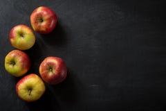 Dark Food Background Fruits Stock Photo