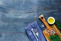Dark food background Stock Photo