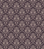 Dark Forged Lace Seamless Pattern Royalty Free Stock Photo