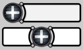 Dark frames stock illustration