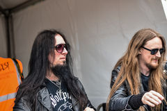 Dark Funeral Hellfest 2016 signing session with fans Stock Photo
