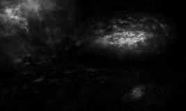 Dark galaxy background Royalty Free Stock Photo