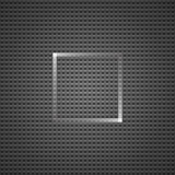 Dark geometric pattern and square in the center. Dark geometric pattern and square with white edges like rays in the center Royalty Free Stock Photography