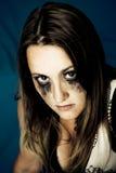 Dark girl Royalty Free Stock Image