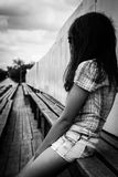 Dark girl Stock Photo