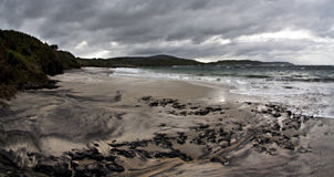 Dark and Gloomy. A dark and gloomy day at the beach Stock Image