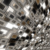 Dark glowing techno background Stock Photos