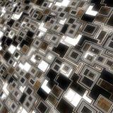 Dark glowing techno background Stock Image