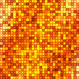 Dark gold square abstract background Stock Photography