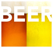 Dark and gold beer texture Stock Images