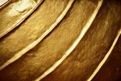 Dark gold color Stock Photos