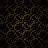 Dark gold pattern Stock Photos
