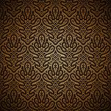 Dark gold pattern Stock Photo