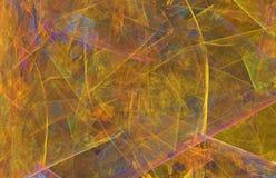 Dark golden retro abstract background or texture. vector illustration
