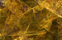 Dark golden retro abstract background or texture. royalty free illustration