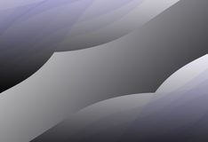 Dark Gradient on black and white. Background Stock Photography