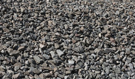 Dark granite gravel background Royalty Free Stock Photo