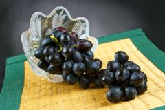 Dark grape Royalty Free Stock Photo