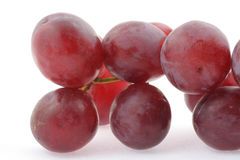Dark grapes details #2 Royalty Free Stock Photography
