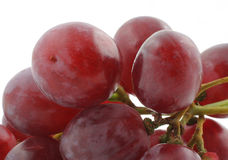 Dark grapes details Royalty Free Stock Photos