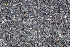 Dark gravel floor background Stock Images