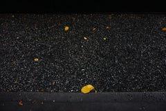 Dark gravel floor. In the park, black texture royalty free stock images