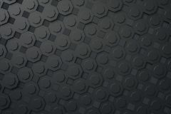 A dark gray abstract background. 3d illustration of a dark gray abstract background Stock Photos
