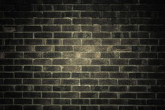 Dark gray brick wall as texture or background. . Royalty Free Stock Photos
