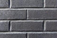 Dark gray brick wall Royalty Free Stock Images
