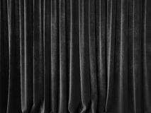 Dark gray curtain Stock Photos