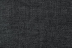 Dark gray denim texture Royalty Free Stock Images