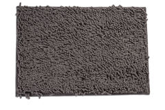 Dark gray doormat Royalty Free Stock Photos