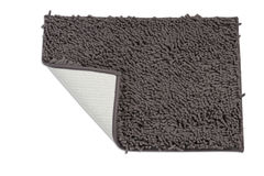 Dark gray doormat Stock Photos