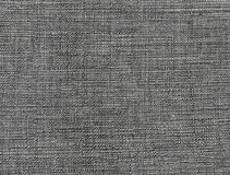Dark gray fabric pattern, background texture Stock Images