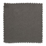 Dark gray fabric swatch samples isolated on white. Background royalty free stock photo