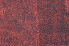 Dark gray felt decoration with red silk Stock Images