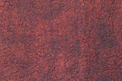 Dark gray felt decoration with red silk Royalty Free Stock Photo