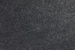 Dark gray foam close-up Stock Image
