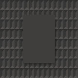 Dark gray geometric vector background. Royalty Free Stock Photo
