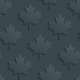Dark gray maple leaves wallpaper. Royalty Free Stock Photos