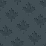 Dark gray maple leaves wallpaper. Stock Photos